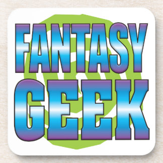 Fantasy Geek v3 Drink Coaster