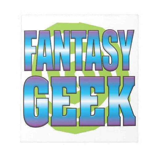 Fantasy Geek v3 Memo Notepads