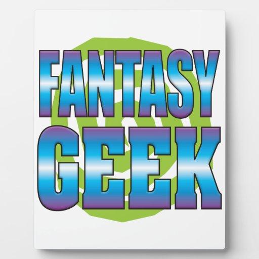 Fantasy Geek v3 Plaque