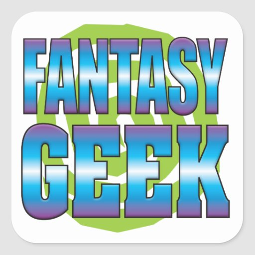 Fantasy Geek v3 Sticker