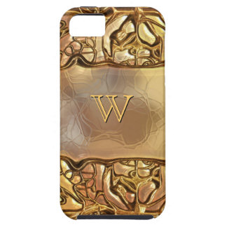 Fantasy Glass Gold 3 iPhone 5 Cases