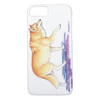Fantasy Golden Star Creation Wolf iPhone 7 Case