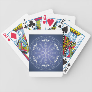 Fantasy Goth Mandala ET Alien Crystal Ball Bicycle Playing Cards