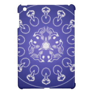 Fantasy Goth Mandala Raven Crow Crystal Ball iPad Mini Cover