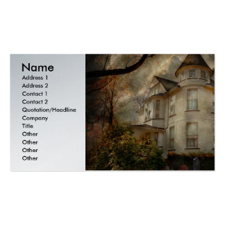 Fantasy - Haunted - The Caretakers House Business Card