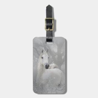 Fantasy Horse Luggage Tag