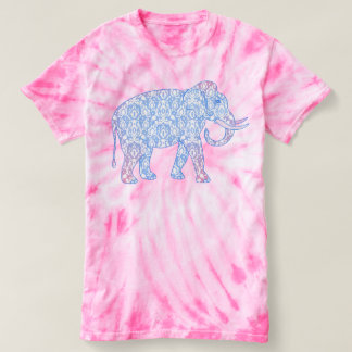Fantasy Indian Elephant Damask T-Shirt