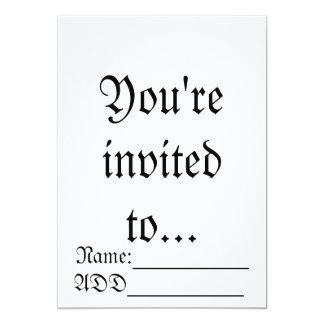 Fantasy invitation (Birthday)