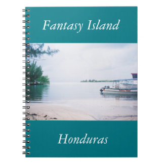 Fantasy Island Honduras Note Book