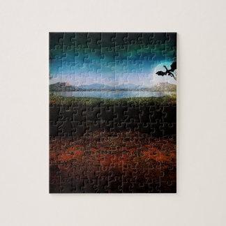 Fantasy landscape puzzle