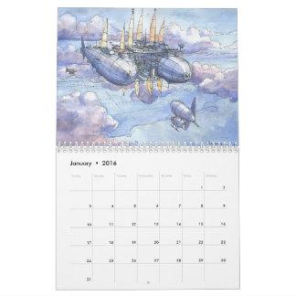 Fantasy Landscapes Calendar