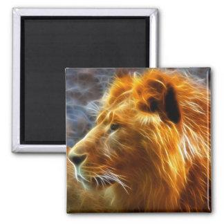 Fantasy  lion magnet