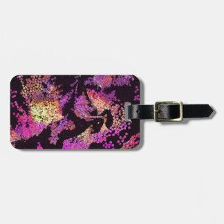 Fantasy Magic Unicorn Abstract Art Bag Tag