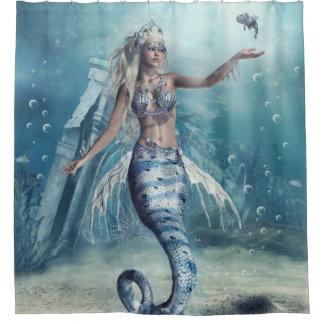 Fantasy Mermaid Shower Curtain