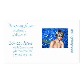 Fantasy Merman Business Cards