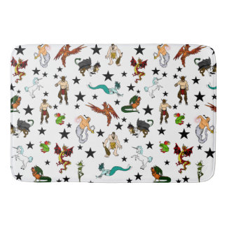 Fantasy Monster, Faeries and Creatures Bath Mat