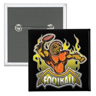 Fantasy Monster Football Pinback Buttons