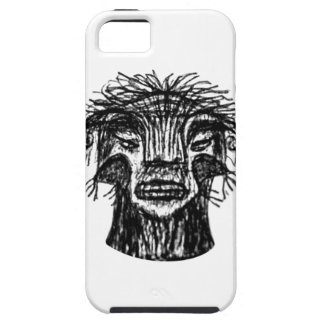 Fantasy Monster Head Drawing iPhone 5 Cases