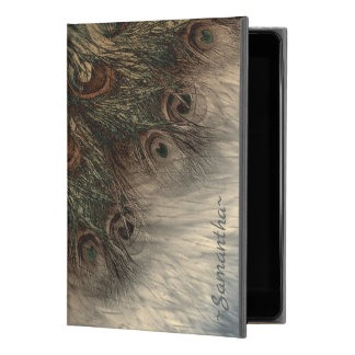 "Fantasy Peacock Feathers And Fur Illustration iPad Pro 9.7"" Case"