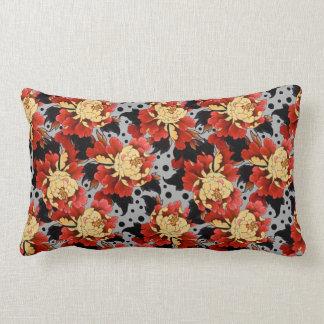 Fantasy Peonies Lumbar Cushion