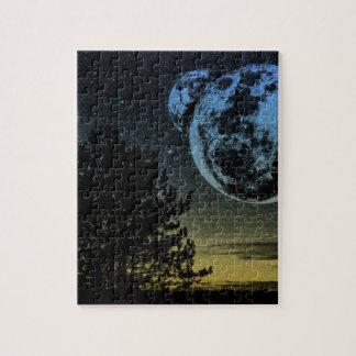 Fantasy planet jigsaw puzzle