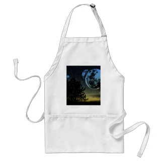 Fantasy planet standard apron