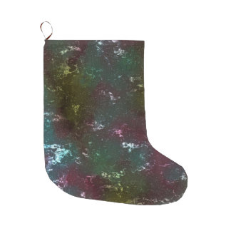 fantasy planet surface 4 large christmas stocking