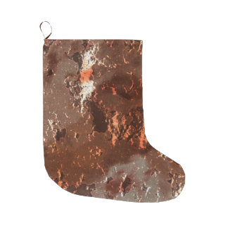 fantasy planet surface 5 large christmas stocking