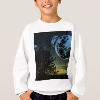 Fantasy planet sweatshirt