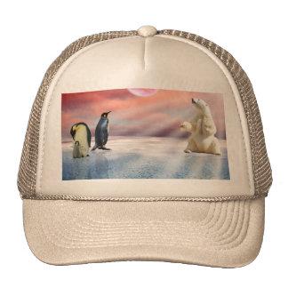 Fantasy Polar Bear Cap