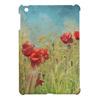Fantasy poppies case for the iPad mini
