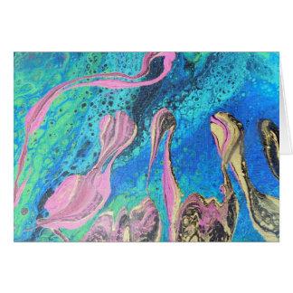 Fantasy Reef Frameable Art Card