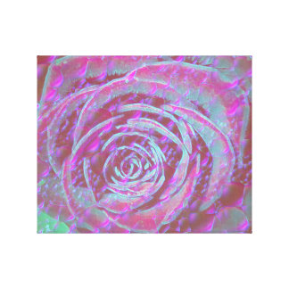 Fantasy Rose Canvas Print