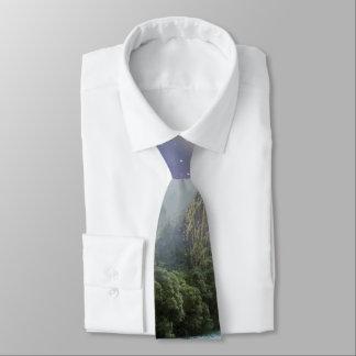Fantasy Scenic Rainforest Landscape Tie