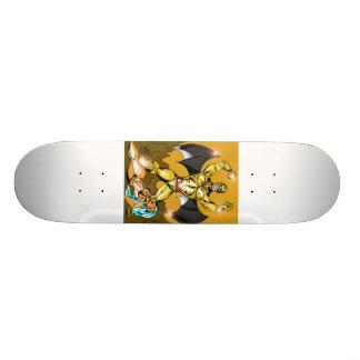 fantasy sketch 21.3 cm mini skateboard deck