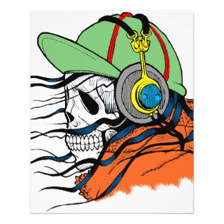 Fantasy Skull Design 11.5 Cm X 14 Cm Flyer