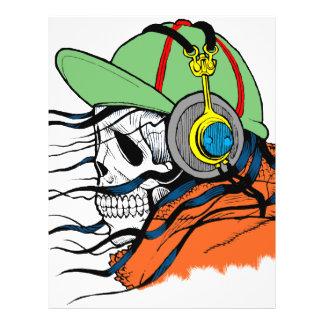 Fantasy Skull Design 21.5 Cm X 28 Cm Flyer