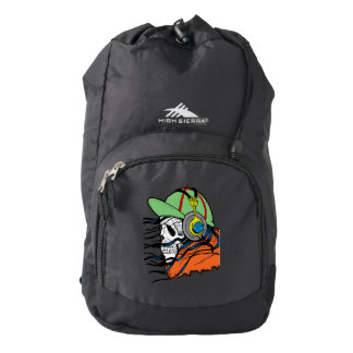 Fantasy Skull Design Backpack