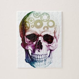 Fantasy Skull Tattoo Jigsaw Puzzle