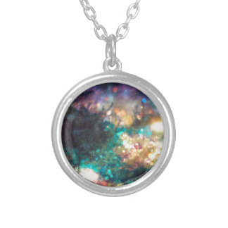 Fantasy Starry Forest 5 Silver Plated Necklace