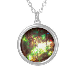 Fantasy Starry Forest 6 Silver Plated Necklace