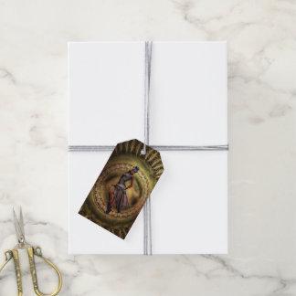 fantasy Steampunk Lady B Gift Tags