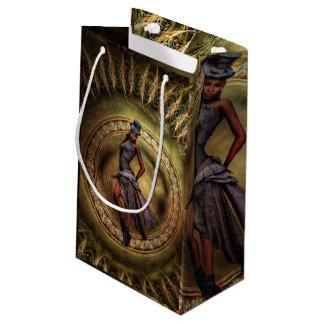 fantasy Steampunk Lady B Small Gift Bag