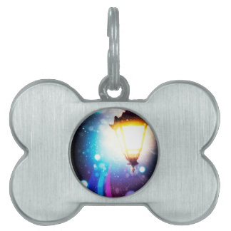 Fantasy Street Lamp 2 Pet ID Tag