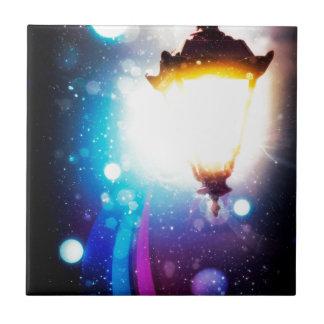Fantasy Street Lamp 2 Tile
