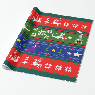 Fantasy Style Ugly Sweater Pattern