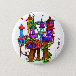 Fantasy Treehouse 6 Cm Round Badge
