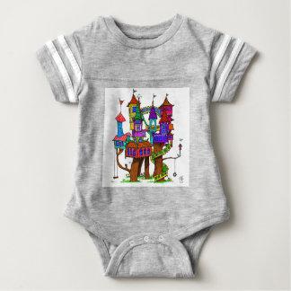 Fantasy Treehouse Baby Bodysuit