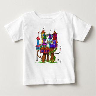 Fantasy Treehouse Baby T-Shirt