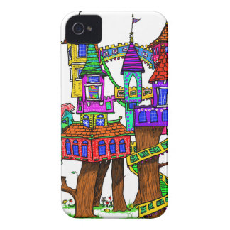 Fantasy Treehouse iPhone 4 Covers